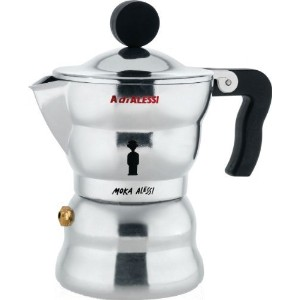 Moka Alessiエスプレッソコーヒーメーカー、1Cup by Alessi