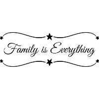 Wall Decal Quote Family Is Everything Decals Wall Decal Quotes Home Decor Vinyl Quotes Designs...