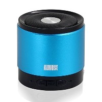 August Bluetooth wireless ワイヤレス無線スピーカー MS425 (blue)