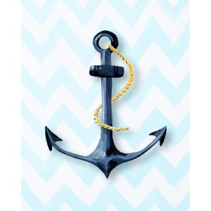 Cici Art Factory Paper Print Wall Hanging, Anchor by Cici Art Factory