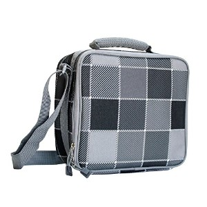 Picnic Pack Classic Insulated Lunch Bag / Box with Backside Pocket (Silver by Picnic Pack
