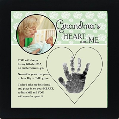 Baby Child Keepsake Handprint Frame with Poetry - Mommy, Daddy, Grandma or Grandpa (Daddy) by The...