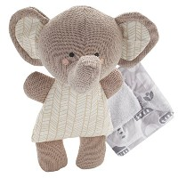 Lolli Living Softie Plush and Blanket, Emmerson Elephant by Lolli Living