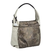 Lassig Casual Hobo Style Diaper Shoulder Bag Handbag Tote-Bag includes Matching Insulated Bottle...