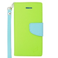 Eagle Cell Flip Wallet PU Leather Protective Case for Apple iPhone 6 Plus - Retail Packaging -...