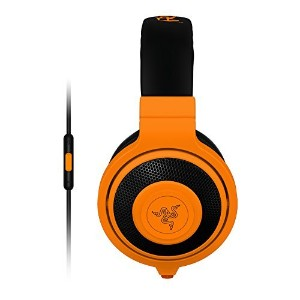 Razer Kraken Mobile Analog Music & Gaming Headset-Neon Orange [並行輸入品]