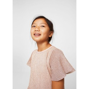 【SALE 60%OFF】ワンピース .-- ORIGAMI (パステルピンク) 子供・キッズ MANGO