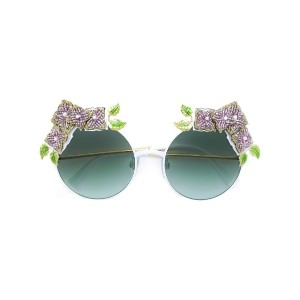 Dolce & Gabbana Eyewear - Ortensia Collection サングラス - women - 金属(めっき)/plastic - 55