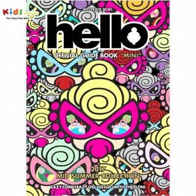 Hystericmini ヒステリックミニ サコッシュポーチ hello 2017MIDSUMMER OFFICIAL GUIDE BOOK