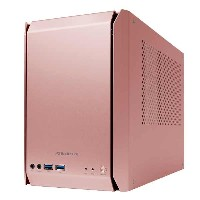 abee ASE-RS01-PE AS Enclosure RS01 ピーチ Mini-ITX PCケース/SFX電源対応
