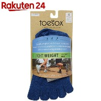 ToeSox Sport Perfdry Light Weight Ankle Brindle Blue S