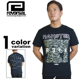 【リバーサル tシャツ】 REVERSAL × MONSTER ROCK MONSTER BITE TEE (1色) [T479] 【リバーサル tシャツ reversal REVERSAL メンズ...