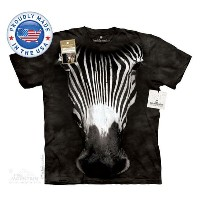 The Mountain Tシャツ The Smithsonian Big Face Grevy'S Zebra (The Smithsonian ウマ 馬 シマウマ メンズ 男性用 男女兼用) S...