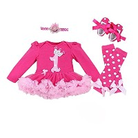 Lovely Baby-girl &Hot Summer Rompers Clothing Baby Clothes Outfits (6-12month) by VIGOO