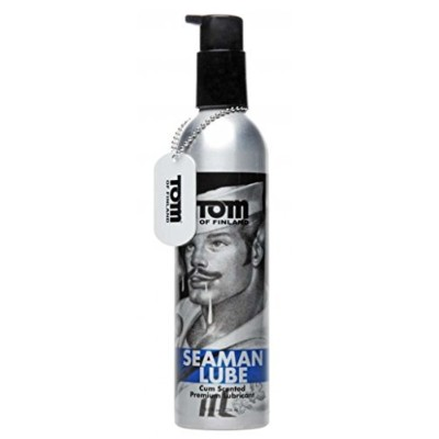Tom of Finland 8 oz Tom of Finland Seaman Lube by Tom of Finland