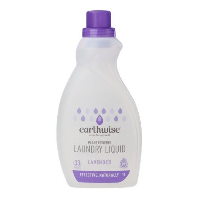 earthwise アースワイズ ランドリーリキッド 【ラベンダー】 洗濯用液体洗剤 植物由来成分 1L