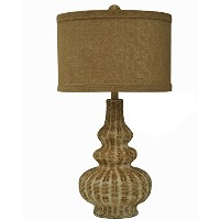 Crestview Collection Stansberry Rattan Table Lamp by Crestview Collection