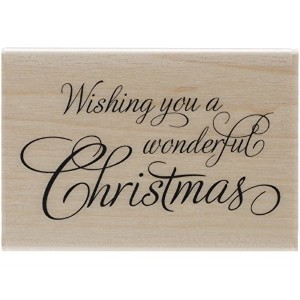 """Penny Black Mounted Rubber Stamp 2""""X2.75""""-Festive Wishes (並行輸入品)"""
