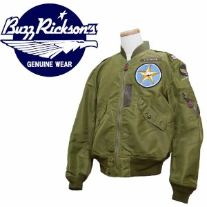 バズリクソンズ Buzz Rickson's L-2A フライトジャケット L-2 PATCH 111st Fighter Bomber Squadron BR11699