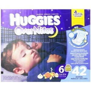 Huggies Overnites Diapers size6 42ct by Huggies