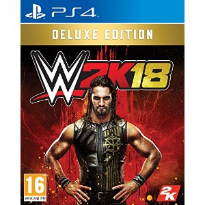 WWE 2K18 Deluxe Edition (PS4) - UK.