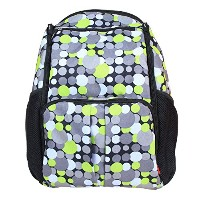 Damero Eco Lightweight Travel Diaper Backpack Changing Bag with Insulated Bottle Pocket and...