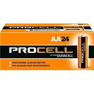 Procell Alkaline Battery, AAA, 24/Box