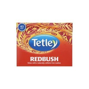 Tetley - Redbush Pure Tea Bags 40 - 100g