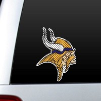 Fremont Die 46135 Diecut Window Film - Minnesota Vikings
