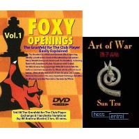 """Foxy Chess Openings: The Grunfeld I - Exchange and Fianchetto Variations DVD & ChessCentral's """"Art..."""