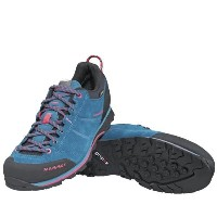 17FW マムート(MAMMUT) Wall Guide Low GTX レディース 3020-04881 5827 dark pacific-light carmine シューズ