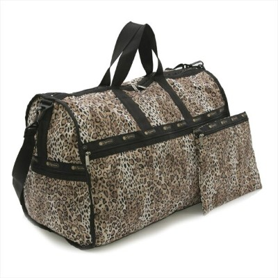 【40%OFF】LeSportsac EXTRA LARGE WEEKENDER OMBRE CHEETAH CONFETTI DOT ボストン バッグ 旅行用 合宿 カバン かばん 鞄 レディース...