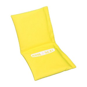 SwaggyBear Kool Seat, Happy Face Yellow by SwaggyBear