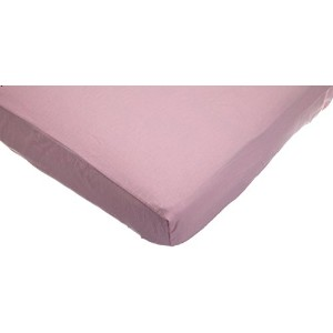 TL Care 100% Cotton Flannel Fitted Crib Sheet, Pink by TL Care