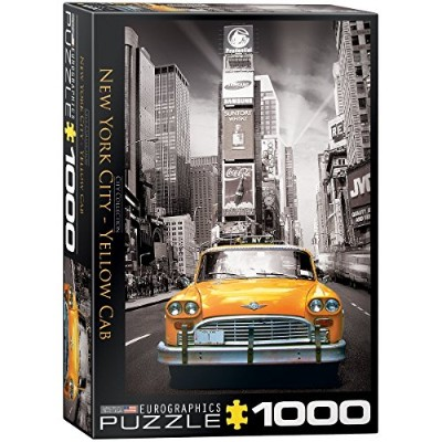 EuroGraphics New York City Yellow Cab Puzzle (1000-Piece) by EuroGraphics [並行輸入品]