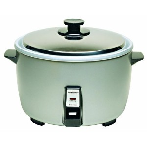 Panasonic SR-42HZP 23-cup (Uncooked) Commercial Rice Cooker, NSF Approved, Stainless Steel Lid by...