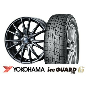 ヨコハマ ice GUARD 6 iG60 195/65R15VELVA SPORT 15インチSET
