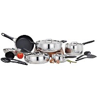 Wearever a739seヴィンテージProfessional Nonstick Cookware Set , 14-piece