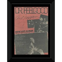 DR. FEELGOOD - As it Happens Framed Mini Poster - 53x43cm