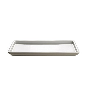 """Tonale長方形Servingプレートby Alessi 14.25"""" x 6.75"""" x 1"""" DC03/22SLG"""