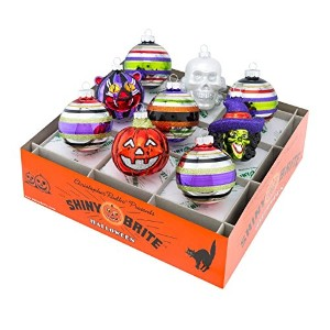 Shiny BriteハロウィンRounds and figures Ornament – Set of Nine