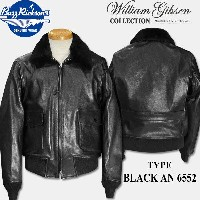 BUZZ RICKSON'S(バズリクソンズ)WILLIAM GIBSON COLLECTION(ウイリアムギブソンコレクション)TYPE BLACK AN 6552 【BR80491】