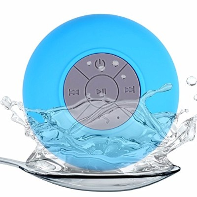 UUSIX Portable Subwoofer Shower Waterproof Wireless Bluetooth Speaker Car Handsfree Receive Call...