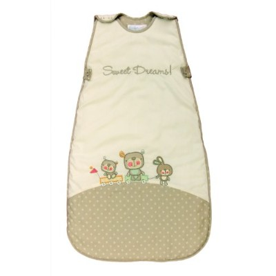 The Dream Bag Baby Sleeping Bag Sweet Dreams 18-36 Months 1.0 TOG - Beige by The Dream Bag