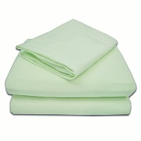 American Baby Company 100% Cotton Jersey Knit Toddler Sheet Set, Celery by American Baby Company
