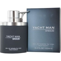 Yacht Man Breeze by Myrurgia Eau De Toilette Spray 3.4 oz