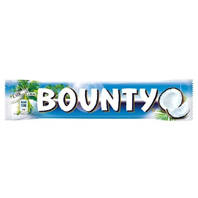 Mars Bounty Milk 57 g (Pack of 24)