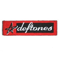 DEFTONES Star Logo Iron On Embroidered Patch 4.6/11.6cm x 1.2/3.4cm By MNC Shop by MNC Patch