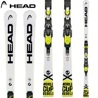 HEAD ヘッド 17-18 スキー ski 2018 WORLDCUP REBELS i.SPEED + FREEFLEX EVO 14 (金具付き) レース 基礎 GS (-):