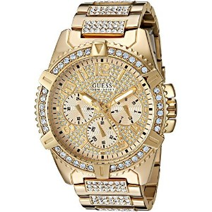 [ゲス]GUESS 腕時計 Dazzling GoldTone Watch with MultiFunction Dial U0799G2 メンズ [並行輸入品]
